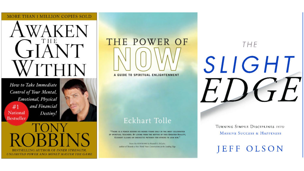3 Self Development Books