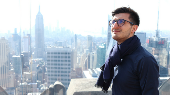 Marcin Ruman in New York